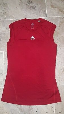 cf32b419983419 2011 VINTAGE ADIDAS CLIMALITE TECHFIT COMPRESSION TANK TOP MEN S SIZE LARGE