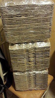 25 Pcs Egg Cartons Paper Trays Flats 30 Ct Eggs Crafts
