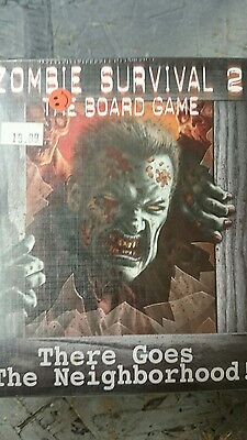 Zombie Survival 2: The Board Game, There Goes the Neighborhood Factory Sealed