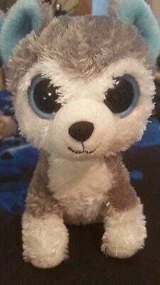 Ty Beanie Boos Slush The Husky Dog 6