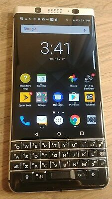 Blackberry Keyone BBB100-3 (Sprint & Boost Network) clean esn good used usa