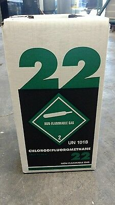 New R22 Refrigerant 10 Lb. Factory Sealed Virgin Made In Usa Same Day Shipping