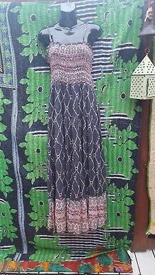 Summer Dress by MINT GREEN Hippie Goddess Crinkle tube top - Green Goddess Dress