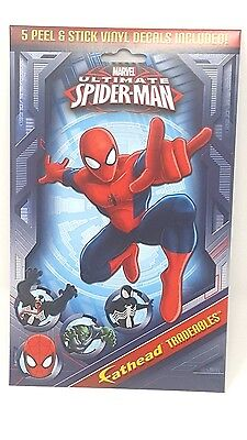 The Amazing Spider Man 5 Fathead Tradeables 5 x 7 Peel Stick Movable Amazing Spider Man Peel