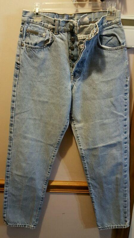 Calvin Klein Button blue  jeans sz7.