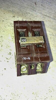 Wadsworth A2100ni 2 Pole 40a 240v Breaker W Plastic Tabs A2100 Obsolete