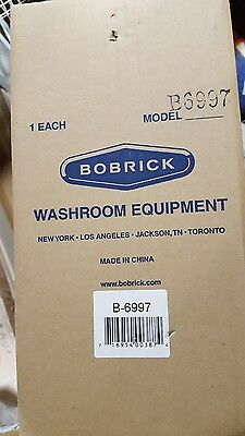 Bobrick B-6997 Recessed Toilet Tissue Dispensers Whood For Double Roll