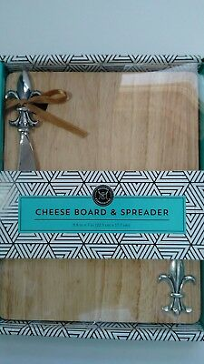 Cheese Board And Spreader Gift Set In Box