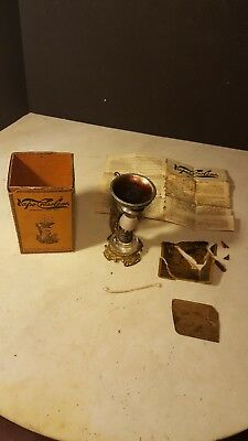 Antique Vapo Cresolene Kerosene Lamp Medical Vaporizer