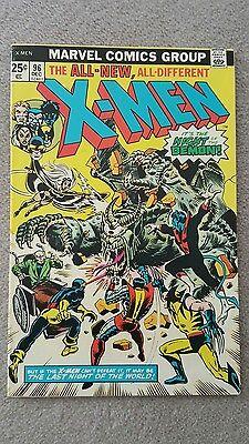 Uncanny X-men (1963 series) #96, Grade 7