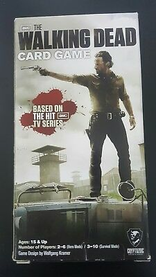 The Walking Dead Card Game NEW 2 to 6 players, 3 to 10 Survival Mode