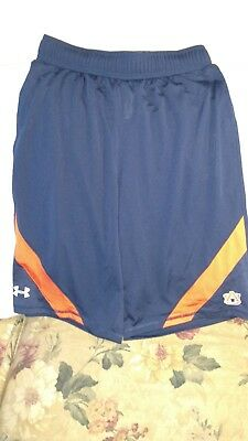 Auburn Tigers Performance Shirt   Youth Xl   Under Armour   Blue