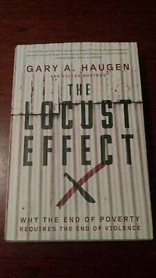 SIGNED 1ST EDITION / 1ST PRINTING Gary A. Haugen THE LOCUST