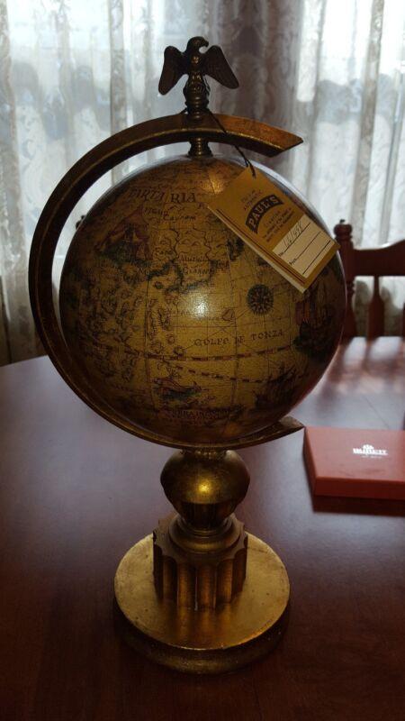 Vintage World Globe Pauls Lamps W/ Tags