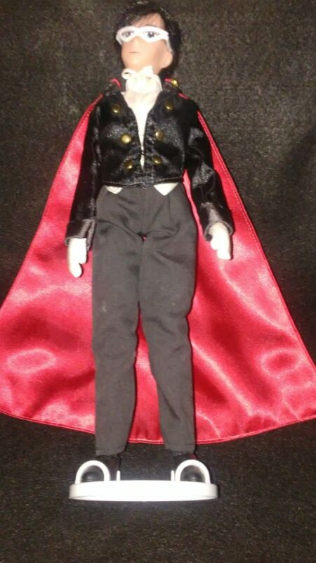 Vintage 2000 Irwin Sailor Moon Tuxedo Mask Deluxe Adventure Doll 11.5""