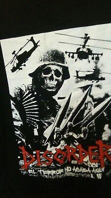 disorder t shirt, el terror no acaba aqui M size.Mexico 2018. DIY or die product - Stormtrooper Zombie