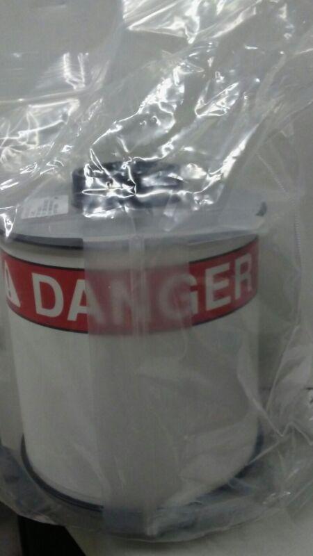 """Danger Label White/Red 4x6-1/4"""", Pk100 BRADY 133165"""