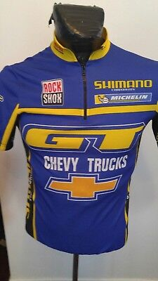 Adult Cycling Jersey De Marchi Small  Chevy TruckS advertising 62efc0b6f