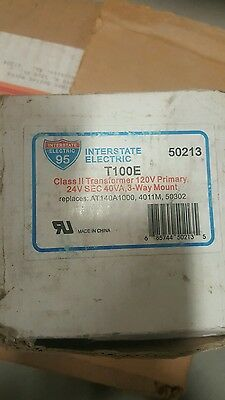 Interstate Electric Replacement 40va Multi-mount Transformer T100e By Packard