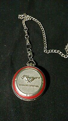 vintage ford mustang pocket watch