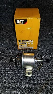 New Caterpillar Lift Pump 183-4320 Fuel Transfer Priming Electric Cat Diesel