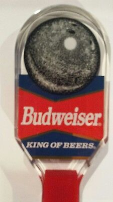 Budweiser King of Beers Bowling Ball Used Acrylic Beer Tap Handle