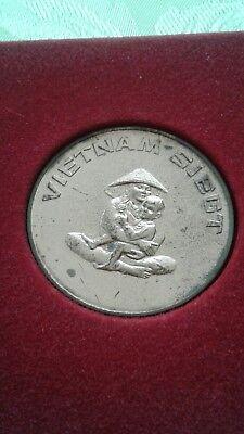 Gedenkmedaille Vietnam  deutscher Kulturbund 1970 DDR Sammler Rarität