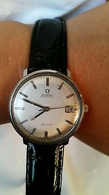 (OMEGA DE VILLE MENS WRIST WATCH  AUTOMATIC )
