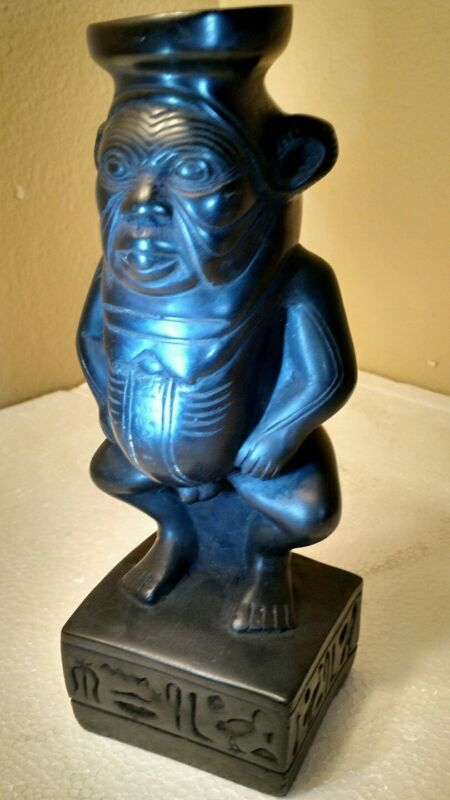 Egyptian Dwarf God Bess - Statue - Made in Egypt