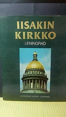IISAKIN KIRKKO LENINGRAD,Kustantamo Aurora,Russian Text
