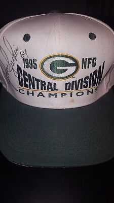 UNKNOWN GREEN BAY PACKERS Signed/Autographed Hat 1995 NFC Division Champions