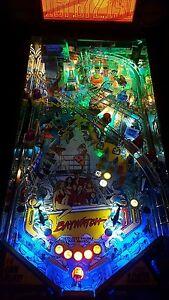 Baywatch/Funhouse/Fish Tales Pinball Machine trough light Mod