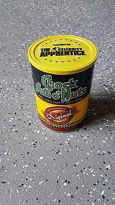 The Celebrity Apprentice Chock Full Of Nuts Empty 1 Lb Coffee Can
