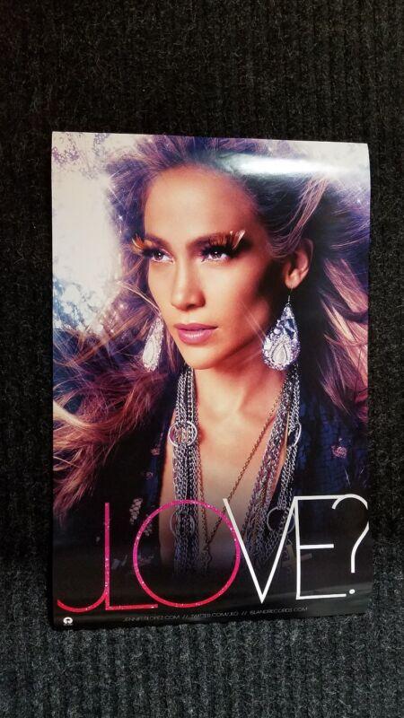 Jennifer Lopez poster  PAPI / JLOVE -  2 sided promotional  poster JLO poster