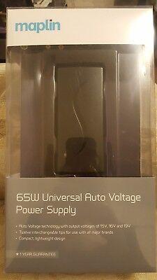 Maplin 65W Universal Auto Voltage Power Supply