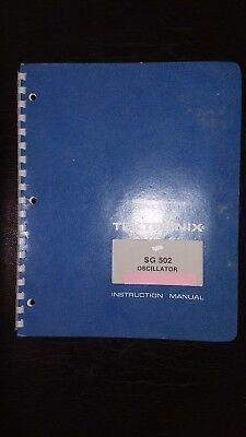Tektronix Service Manual Sg502 Oscillator 070-1430-01