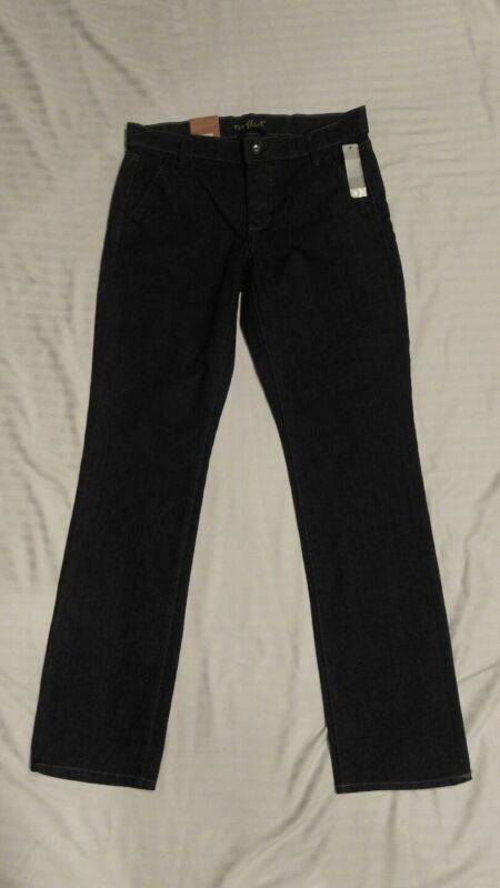 New Old Navy The Flirt Black Mid Rise Stretch Jeans, Size 6 NWT