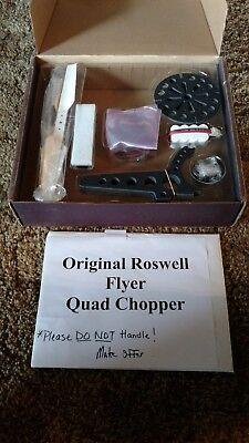 ORIGINAL ROSWELL FLYER QUAD CHOPPER First ever RC