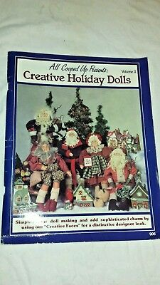 Christmas Craft Patterns Creative Holiday Dolls Book Vol 2 All Cooped Up. #906 ()