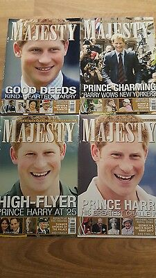 4 Majesty Magazine Of Prince Harry