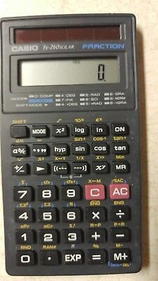 Nice Casio Fx 260 Solar Scientific Fraction Calculator Free Shipping