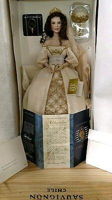 Franklin Mint The Faberge Winter BrideAleksandra Porcelain Doll for sale  Valrico