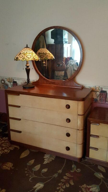 Vintage Bedroom Set Bakelite Gilbert Rohde Design