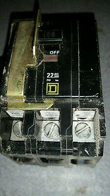 Sq D 3 Pole 100 Amp Breaker