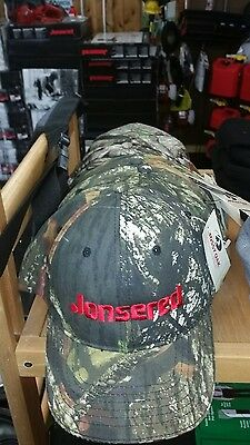 jonsered husqvarna chainsaw camo hat / new from -