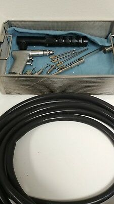 Synthes Small Drill Set W Attachments Hose Drill Bits W Tray