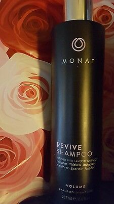 New Sealed Monat Revive Volume Shampoo Infused W Rejuvenique Oil  Hair Monet