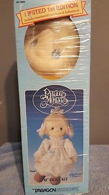 "Precious Moments Doll Kit ""Susie"" Doll 18"" tall in original box"