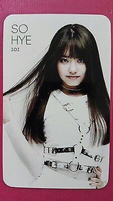I.O.I IOI SOHYE Official PHOTOCARD 1st Single Album WHATTA MAN Produce 101 소혜