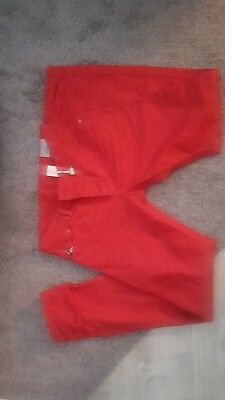NWT DIESEL Darron Red Regular Slim Tapered Buttonfly Jeans 30 x 32